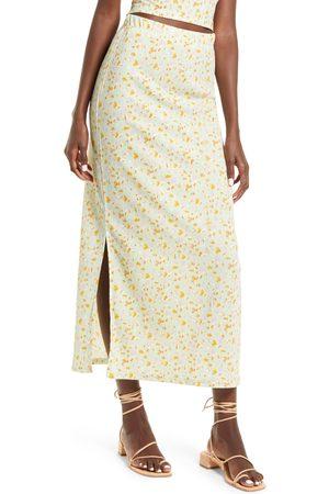 VERO MODA Women's Floral Maxi Skirt