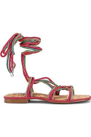 Steve Madden Sensible Sandal in Pink.