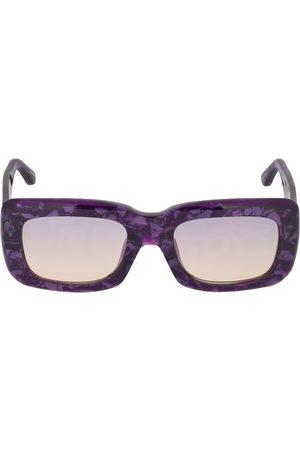 The Attico Women Sunglasses - Marfa Squared Acetate Sunglasses