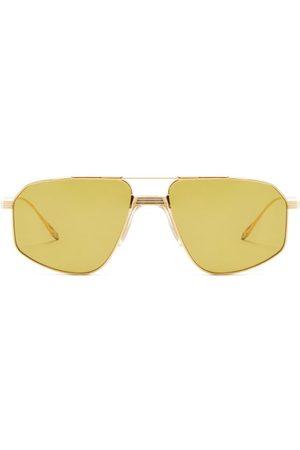 JACQUES MARIE MAGE Women Aviators - Jagger Aviator Titanium Sunglasses - Womens