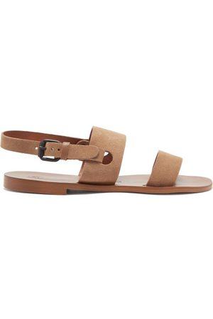 Álvaro Alexander Suede And Leather Sandals - Mens