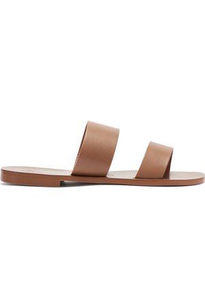 Álvaro Alex Leather Sandals - Mens