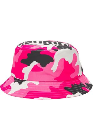 BHMG Men Hats - Camo Logo Techno Bucket Hat