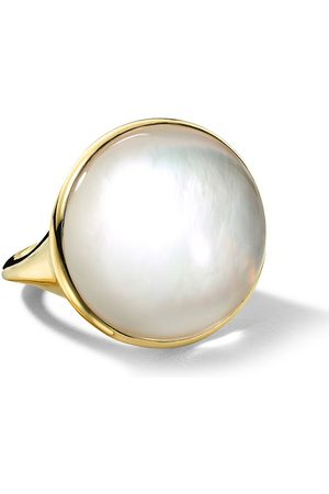 Ippolita Women Rings - 18kt yellow Luce small oval ring