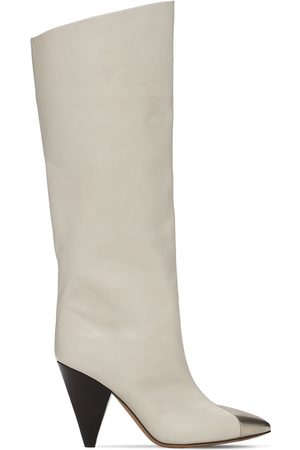 Isabel Marant Women Thigh High Boots - 90mm Lilezio Leather Tall Boots