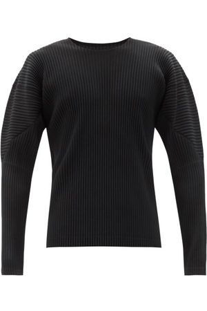 HOMME PLISSÉ ISSEY MIYAKE Technical-pleated Long-sleeved T-shirt - Mens