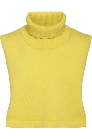 Jil Sander Men Scarves - Fine Wool & Cashmere Turtleneck Collar