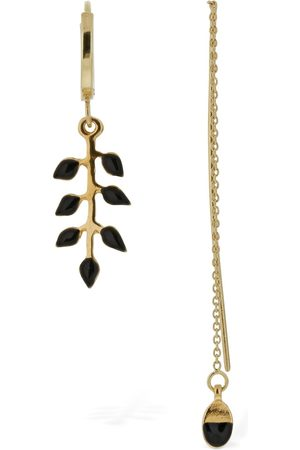Isabel Marant New Leaves Mismatched Earrings