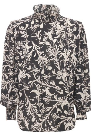 Isabel Marant Yosh Printed Viscose Top