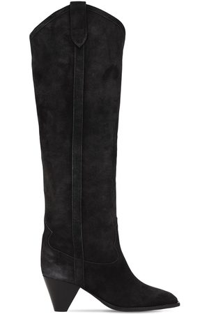 Isabel Marant Women Thigh High Boots - 60mm Lihana Suede Tall Boots