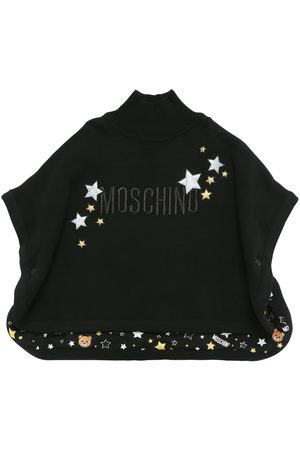 Moschino Embroidered Cotton Blend Cape