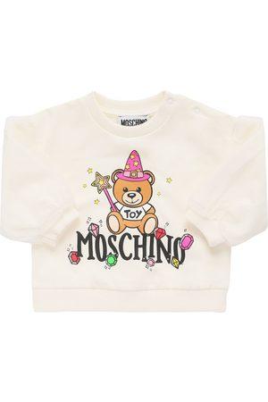 Moschino Girls Sweatshirts - Toy Print Cotton Sweatshirt