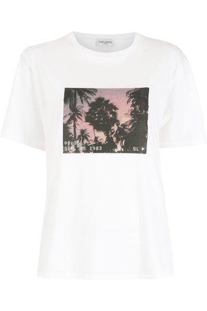 Saint Laurent VHS Sunset-print T-shirt