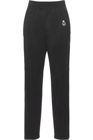 Isabel Marant Inaya Logo High Waist Straight Pants