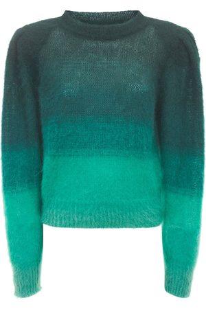 Isabel Marant Deniza Gradient Mohair Blend Sweater