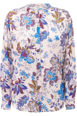 Isabel Marant Women Shirts - Catchell Printed Viscose Shirt