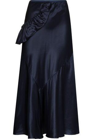 Simone Rocha Bias-cut midi skirt
