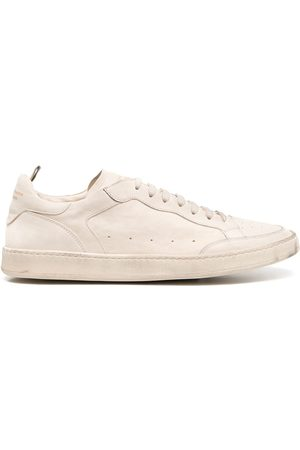 Officine creative Men Sneakers - Calf leather lace-up sneakers - Neutrals