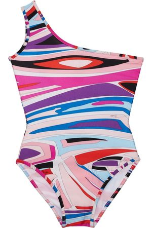 Emilio Pucci Girls Swimsuits - Printed Lycra One Piece Swimsuit