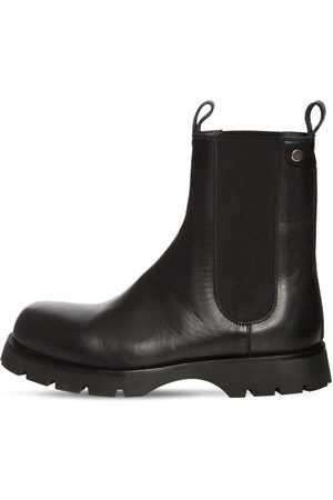 Jil Sander Leather Chelsea Boots