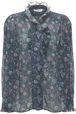 Isabel Marant Pamias Printed Cotton Shirt
