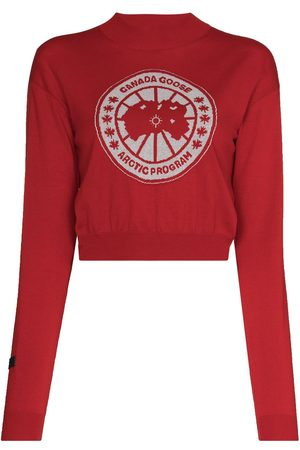 Canada Goose Women Hoodies - X Angel Chen cropped logo jumper
