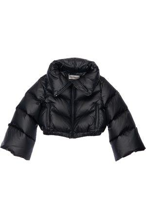 Simonetta Cropped Nylon Down Jacket