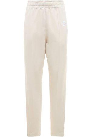 Isabel Marant Women Straight Leg Pants - Inaya Logo High Waist Straight Pants