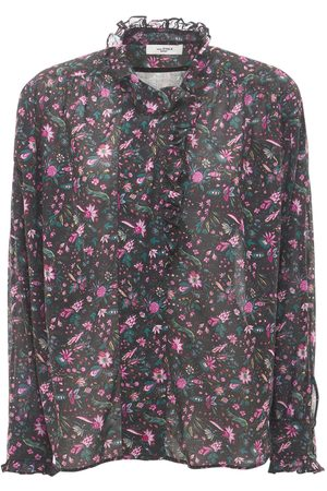 Isabel Marant Women Shirts - Pamias Printed Cotton Shirt