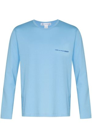Comme des Garçons Men Long Sleeve - Small logo long-sleeve T-shirt