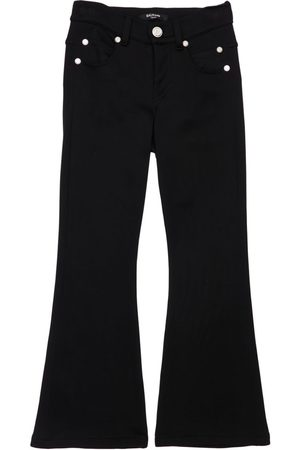 Balmain Technical Double Jersey Flared Pants