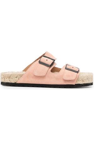 MANEBI Nordic double-buckle sandals