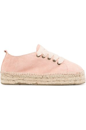 MANEBI Lace-up espadrille sneakers