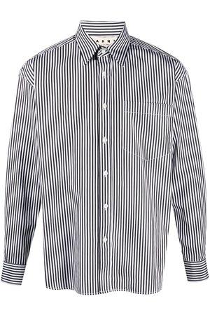 Marni Men Shirts - Stripe-pattern buttoned shirt