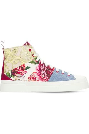 Dolce & Gabbana Patchwork High Top Sneakers