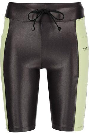 Koral Logo-print shorts