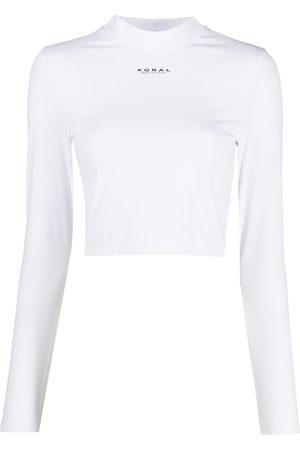 Koral Logo-print T-shirt