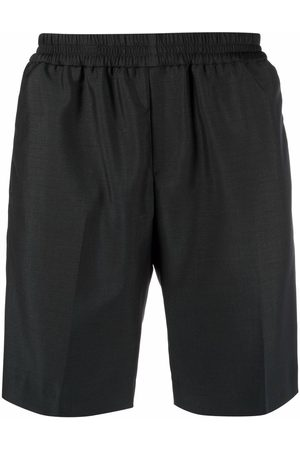 Harmony Men Sports Shorts - Elasticated wool-blend shorts