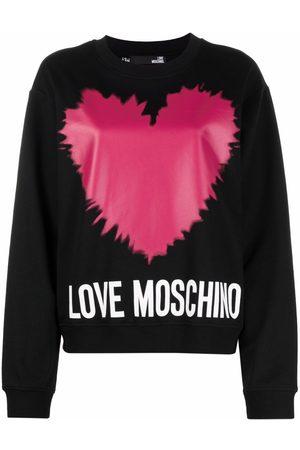 Love Moschino Logo-print sweatshirt