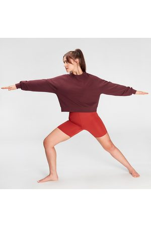 MP Women Sweatshirts - Women's Coosure Sweatshirt- Washed Oxblood