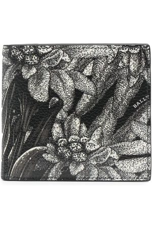 Bally Floral print bi-fold wallet