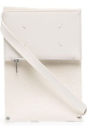 Maison Margiela Four-stitch crossbody wallet