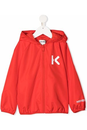 Kenzo Boys Sports Jackets - Logo-print windbreaker