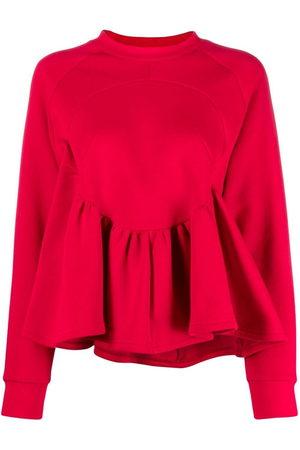 Atu Body Couture Women Blouses - X Ioana Ciolacu flared long-sleeve blouse