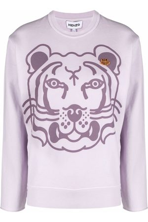 Kenzo Women Sweatshirts - K-Tiger printed sweatshirt