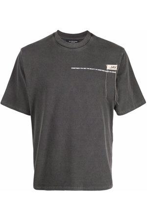 VAL KRISTOPHER Logo-print short-sleeved T-shirt