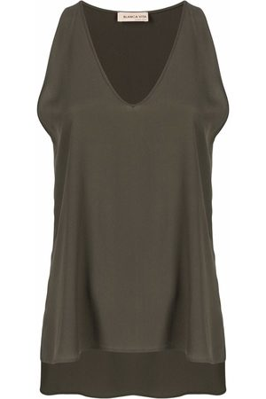 BLANCA Women Tank Tops - V-neck vest top