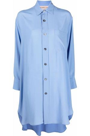 BLANCA Women Casual Dresses - Patch-pocket shirt dress