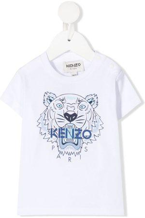 Kenzo T-shirts - Logo organic cotton T-shirt