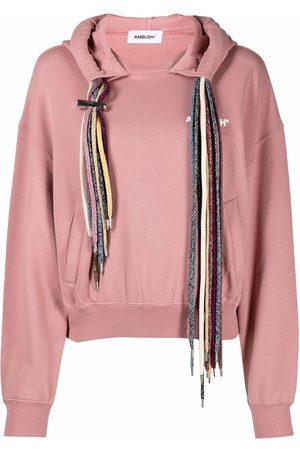 AMBUSH Women Hoodies - Multi-drawstring hoodie